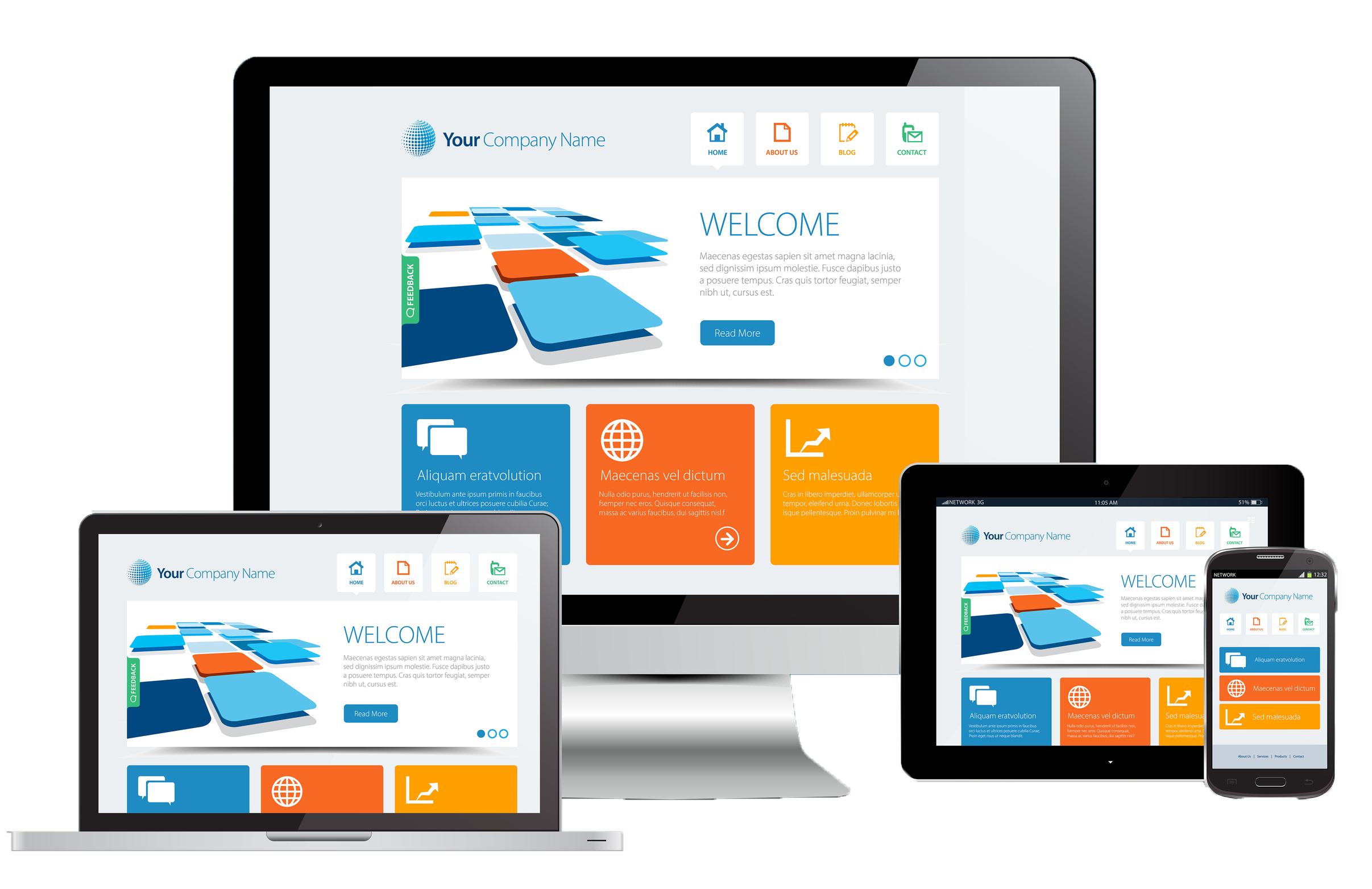 responsive websites mobile site dev company